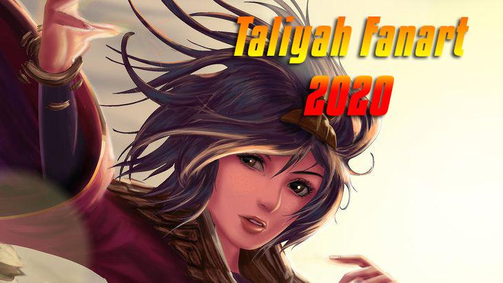 Taliyah Fanart cực đẹp